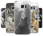 Wolve Wild Teeth Nature Rubber Art Phone Rubber Cover Case fits Samsung Galaxy