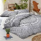 Mandala Boho Duvet Doona Cover Bedding Set Comforter Duvet Covers & Bedding Sets