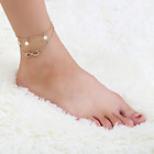 Womens Ankle Bracelet Silver Gold Plated Sterling Anklet Foot Chain Beach Beads <br/> OVER 60+ Styles! UK Seller! BOGO 10% OFF! Fast UK Post!