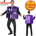 CA480 Take Me Home and Unwrap Xmas Christmas Funny Fancy Dress Up Costume Outfit
