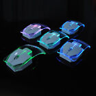 Creative Wireless Computer Colorful LED Optical Transparent Mouse For PC Laptop