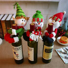 Внешний вид - Christmas Santa Snowman Elf Wine Bottle Cover Table Party Decor Xmas Ornaments