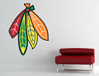 Chicago Blackhawks Logo NHL Wall Decal Hockey Vinyl Sticker Decor EXTRA LARGE $19.95 USD on eBay