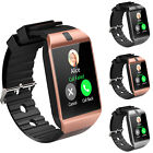Man daily Smart Bluetooth Watch Phone Mate for Android IOS Camera SD DZ09 Sports