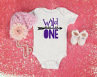 baby first birthday onesies girl - Wild One Year Old Baby Birthday Girl Toddler Clothes Romper 1st Birthday