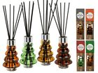 Scented Room Diffuser - Glass Tree Relaxing Mellow Smell Calm - Christmas Gift