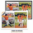 2017 SI ASTROS COVERS: SPRINGER MVP, HOUSTON LIFTS OFF 19x13 WALL POSTER on Ebay