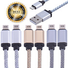 1-12 Pack Lot Lightning Cable 3ft Mfi Usb Charger For Apple Iphone 5 7 6s Plus 8