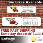 Fiat 500 ABARTH Banner, for Workshop, Garage, Man cave, Showroom