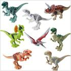 Dinosaurs Minifigure Jurassic World Park Fits Lego T-Rex Raptor Mini Figure