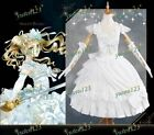 Black Butler Book of the Atlantic Elizabeth Cosplay Costume White Lolita Dress