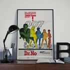 James Bond 007 Dr.No Sean Connery Movie Film Poster Print Picture A3 A4 £7.9 GBP