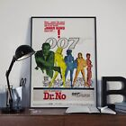 James Bond 007 Dr.No Sean Connery Movie Film Poster Print Picture A3 A4 £7.9 GBP on eBay