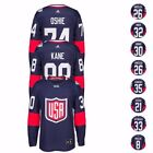 NHL 2016 Adidas Premier World Cup Of Hockey USA Player Jersey Mens Navy