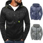 New Men's Winter Hooded Coat Jacket Costume Coat Lot S M L XL Plus 2X 3X