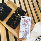 Golden Marble Pattern Shockproof Case Cover for Apple iPhone 8 X Plus 6 7 10 +