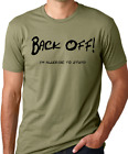 Back Off I'm Allergic to Stupid Funny Shirt Rude Humor Think Out Loud Apparel