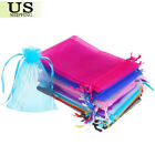 Kyпить 100/200 Organza Gift Bags Wedding Favor Party Sheer Candy Bag Jewelry Pouches на еВаy.соm