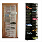 Home 26Pocket Over Door Shoe Organizer Rack Hanging Storage Space Saver Hanger