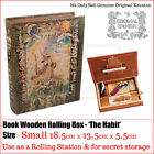 The Habit Kavatza Deluxe Wooden Rolling Box Book - Small/Large & deluxe book