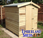 10x6 FACTORY SECONDS Apex Shed Windows Optional Tanalised Treated Storage Hut