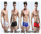 Men`s Sexy Manview Mesh Boxer Underwear Gay Interest fits Med to Large Pos Gay!