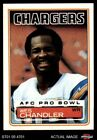 1983 Topps #373 Wes Chandler Chargers NM/MT $0.99 USD