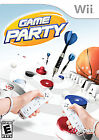 Game Party (Nintendo Wii, 2007) original box, with manual