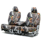 Custom Fit Seat Cover for Lincoln MKZ In Mossy Oak Front & Rear