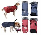 SMALL to EXTRA LARGE dog waterproof high quality rain coat warm jacket clothes