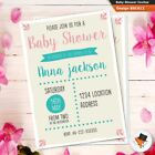 Personalised Baby Shower Invitations A6 Postcard size - Unisex Girl Boy
