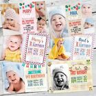 10 Personalised Photo 1st First Birthday Party Photo Invitations Free Proof