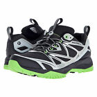 New $130 MERRELL Capra Bolt Waterproof Mens Trail Hiking Shoes : Black / Green