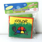 Intelligence development Cloth Cognize Book Educational Toy for Kid Baby ;V