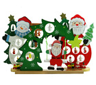 DIY Wooden Christmas Ornaments Festival Party Xmas Tree Table Desk Decoration