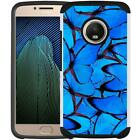 Slim Hybrid Armor Case Shock Proof Phone Cover for Motorola Moto G5 Plus