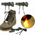 US Survival Hiking Boot Shoelaces Laces Emergency Fire Starter Climbing Camping