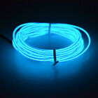 Neon LED Light Glow EL Wire String Strip Rope Tube Car Dance Party & Controller