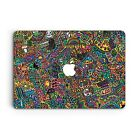 Doodles Art Design Hard Case For Macbook Pro Retina Air 11 12 13 15 2016