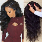 360 Frontal Lace Wig Virgin Brazilian Human Hair With Baby Hair Around Off Black