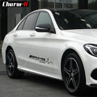 2X New Car Side Door Vinyl Decal For Mercedes Benz AMG Limited Edition Stickers