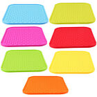US Silicone Placemat Kitchen Dish Holder Mat Pad Tray Heat Resistant Non-slip
