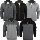 Brave Soul Sherpa Fleece Lined Hoody Jacket  Mens Size