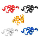 10pcs Bicycle C-Clips Buckles Road Mountain Cable Guides Housing Brake Hose