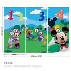 Tapete Fototapete Kinderzimmer Minnie & Mickey Mouse Daisy & Donald Duck Pluto