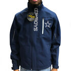 Dallas Cowboys NFL G-III Sports ENERGY SOFT SHELL Full Zip Navy Jacket on eBay
