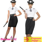Ladies British Police Woman Costume Traditional Officer Uniform Cops Fancy Dress