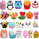 Lot Jumbo Squishy Super Soft Slow Rising Squeeze Toy Pressure Relief Kids Toys P