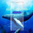 Full Coverage Curved Tempered Glass Screen Protector For Samsung S8 Plus Note8