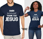 Amen Hallelujah Thank you Jesus Christian Religious Lord Faith Spiritual T shirt